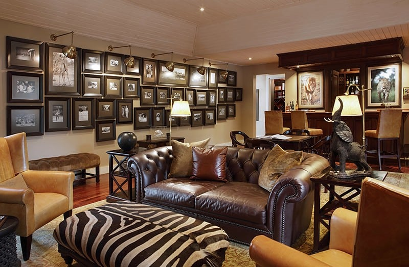 Rattray's on malamala game reserve in south africa, the lobby