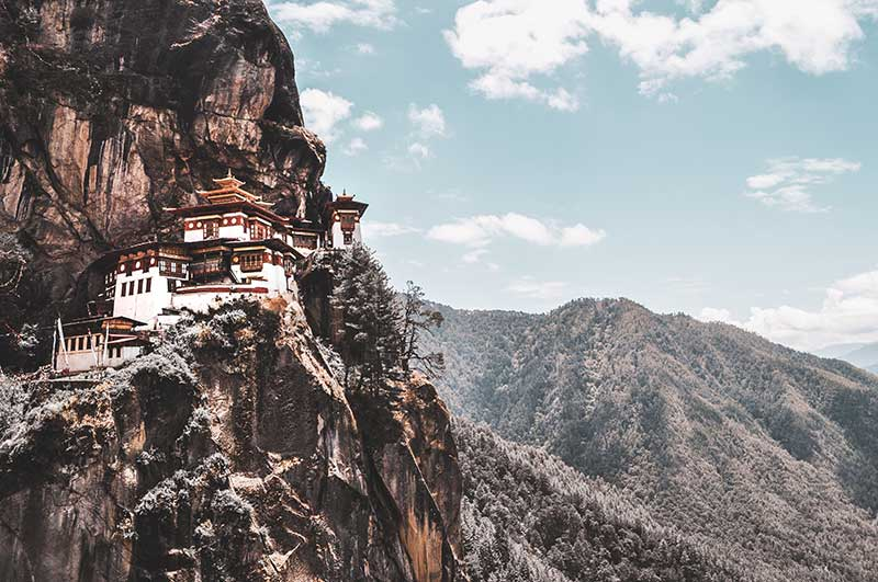 sustainable travel in bhutan