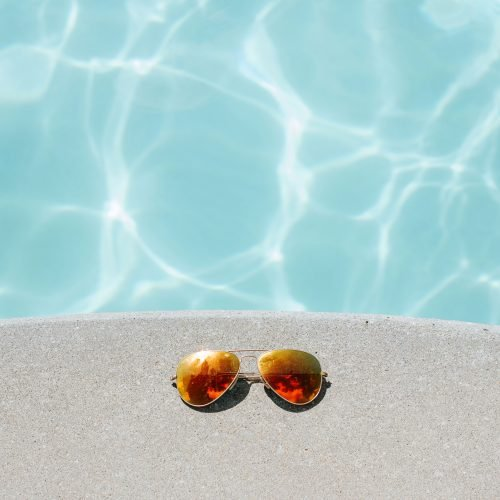 sunglasses pool